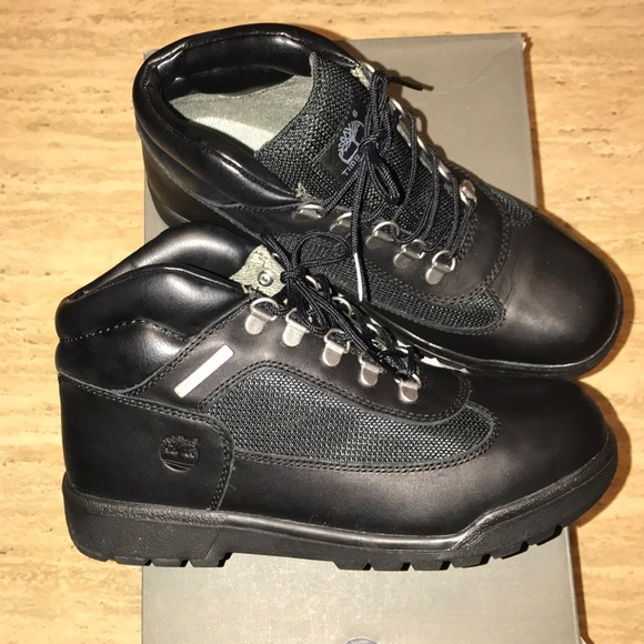 1500629d204 Youth Black Timberland Field Boots